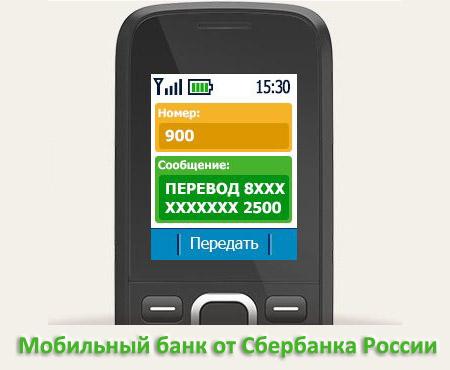 Мобильный банк от Сбербанка России